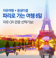 파리로 가는 여행 6일(세미패키지)